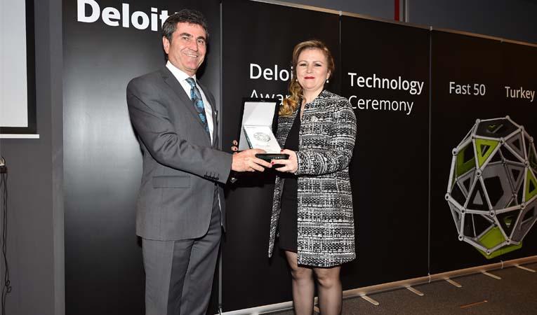 Cardtek, Deloitte Fast 50'de ödül aldı