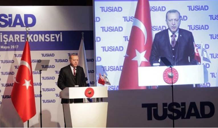 Erdoğan, TÜSİAD YİK'te konuştu