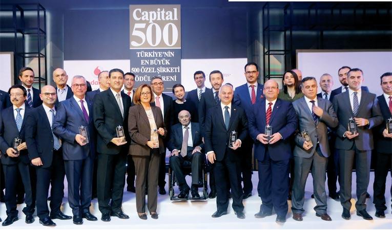Capital500 liderleri ödüllerine kavuştu