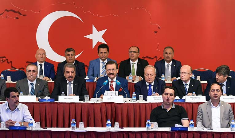 TOBB il başkanlarından ortak açıklama