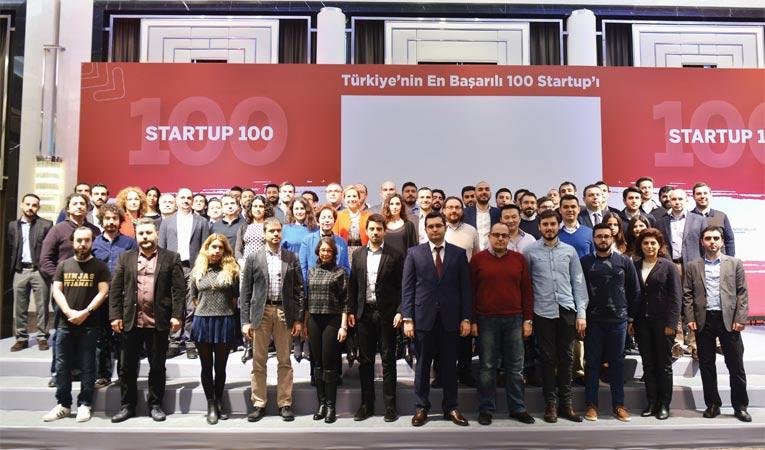 TÜRKİYE'NİN EN BAŞARILI 100 START UP'I AÇIKLANDI