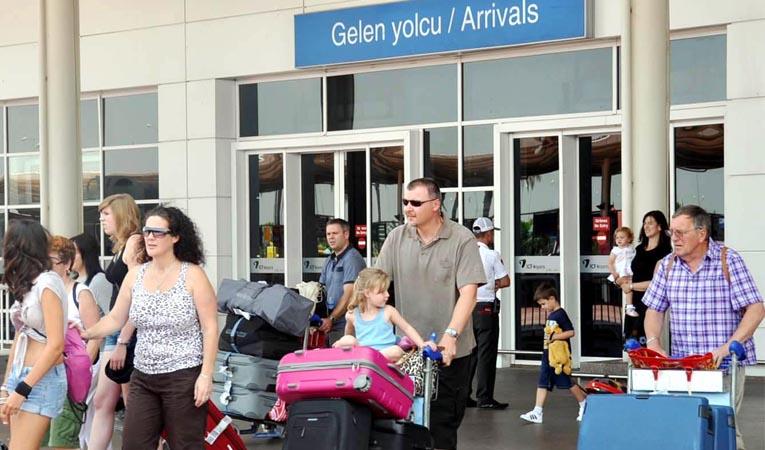 Rus turist kaybı bir yılda %84 oldu