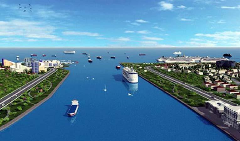 ?Kanal İstanbul'a 'su yolu' tanımı geldi