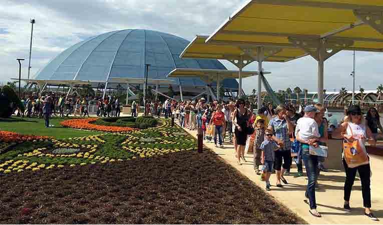 EXPO 2016 Antalya, 70 bin ziyaretçiye ulaştı