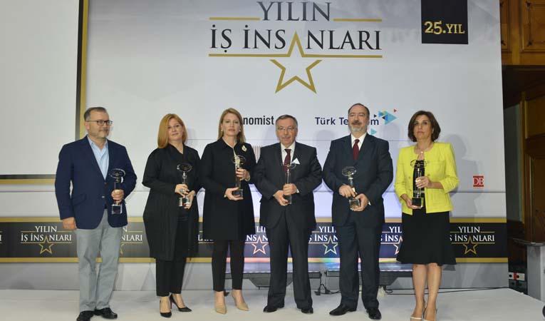 """""""YILIN İŞ İNSANLARI"""" ÖDÜLLERİNİ ALDI"""