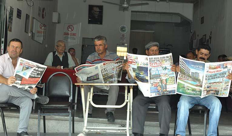 Gazete ve dergilerin sayısı yüzde 4,5 azaldı