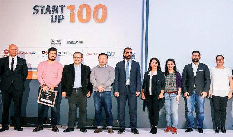 EN BAŞARILI 100 START UP