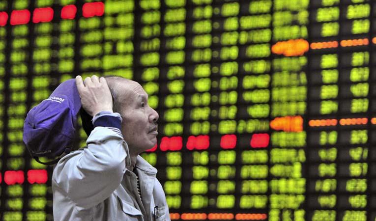 Çin borsası durdu