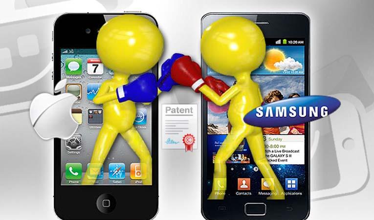 Patent davasını Samsung kazandı