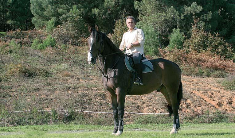 Beni bir tek atım Kont dinlendirir
