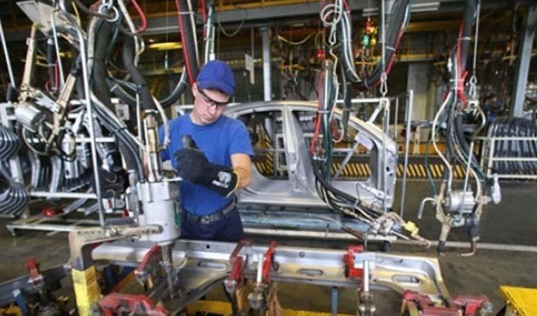 Sanayi üretim endeksi %2,6 arttı
