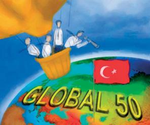 GLOBAL 50 TÜRK'ÜN 13 FARKI