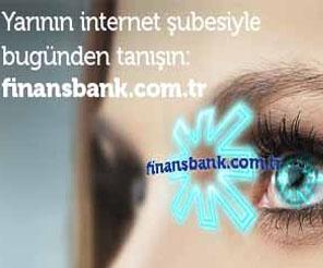 Finansbank'ın Yeni İnternet Şubesi Yayında!