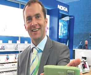 """""""Pazar akıllı telefonlar ve 3G ile büyüyecek"""