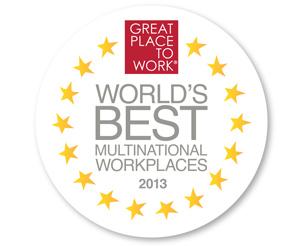 Dünya'nın En İyi Çok Uluslu İşverenleri 2013 listesi açıklandı!