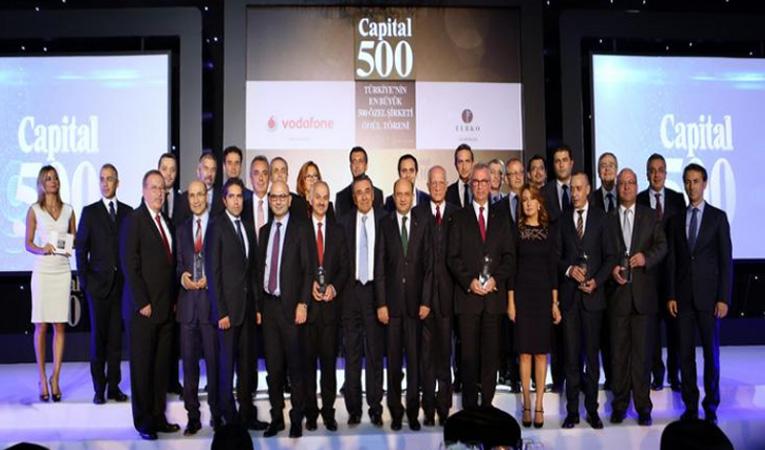 Capital 500 Araştırması Ödülleri verildi!