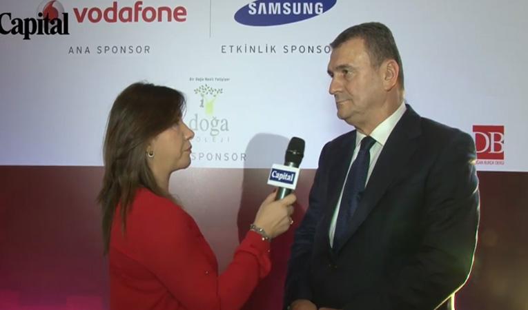 CEO Club Toplantısı Koç Holding CEO'su Turgay Durak Röportajı