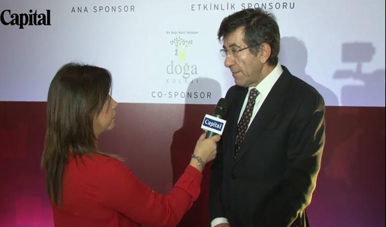 CEO Club Toplantısı Sabancı Holding CEO'su Zafer Kurtul Röportajı
