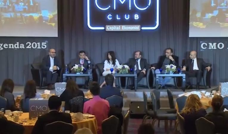 """CMO Club Toplantısı -  """"CMO Ajanda 2015"""" – 31.03.2015"""