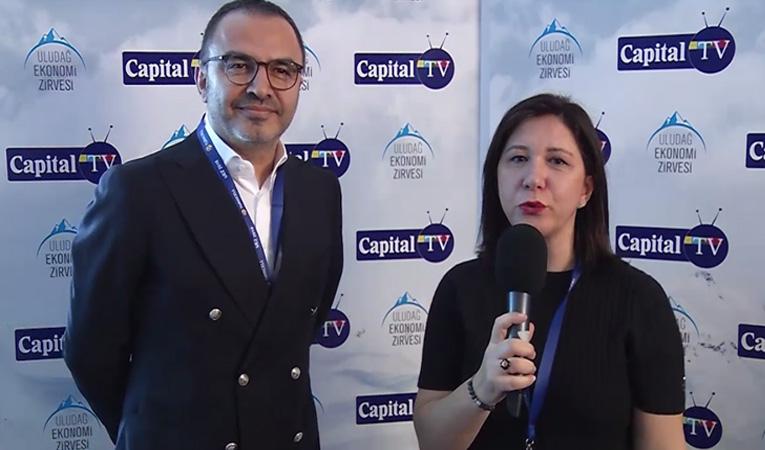 İhsan ATEŞ Uludağ Ekonomi Zirvesi UEZ2016