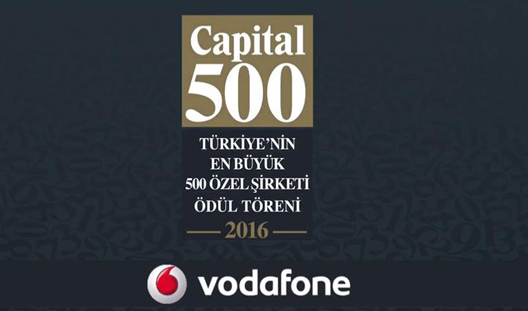 Capital 500 Ödül Töreni 2016