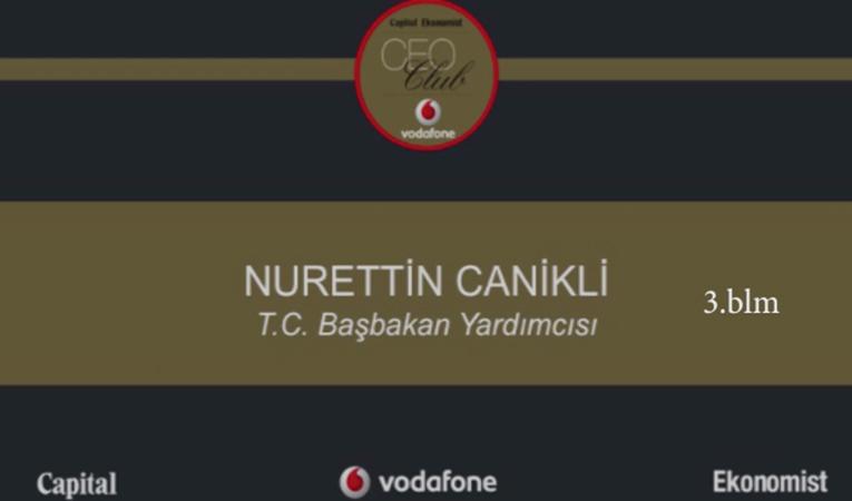 Nurettin Canikli/ CEO Club/ Bölüm 3