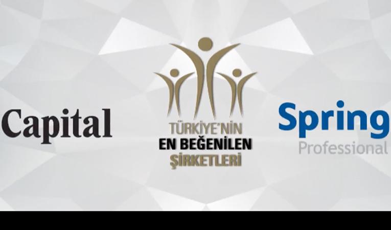 Türkiye'nin En Beğenilen Şirketleri Ödül Töreni